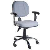 cadeira para escritório de rodinhas  preço em Ferraz de Vasconcelos