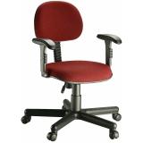 cadeira para escritório simples na Santana de Parnaíba