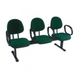 cadeiras longarinas para escritório na Santana de Parnaíba
