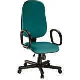 cadeiras para escritório com apoio de braço na Itaquaquecetuba