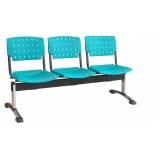 comprar longarinas para recepção de clínicas em Barueri