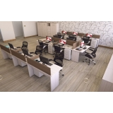 estações de trabalho 6 lugares no Taboão da Serra