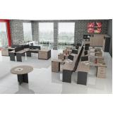 mesa de canto estação de trabalho para escritório preço na Carapicuíba