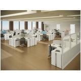 mesa de canto estação de trabalho para escritório no ABCD