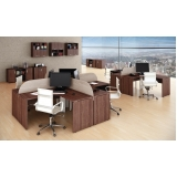 mesas de canto estação de trabalho para escritório na Carapicuíba