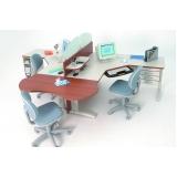 mesas de estação de trabalho em Jandira