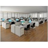 móvel corporativo para ambiente de escritório