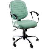 quanto custa cadeira para escritório com apoio de braço em Ferraz de Vasconcelos