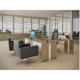 quanto custa mesa de escritório estação de trabalho na Cotia
