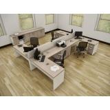 venda de mesa de canto estação de trabalho para escritório na Carapicuíba